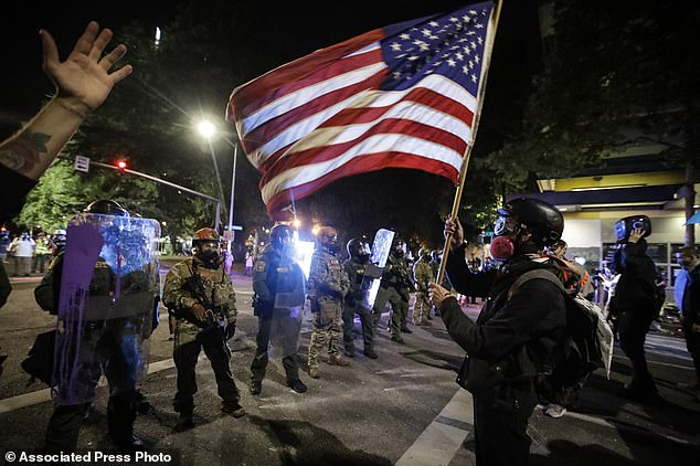Portland was been the epicenter of protests in 2020 with at least 200 nights of demonstrations, 30 nights of rioting and around 1,000 arrests. (File photo from July)