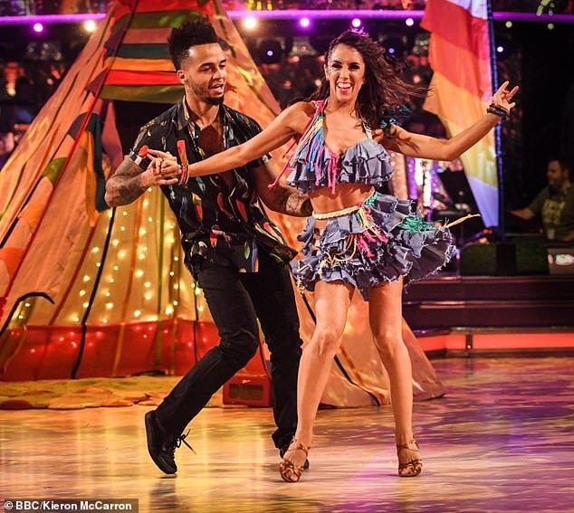 'Aston, we left too early': Despite being paired with talented famous dancers such as JLS star Aston Merrygold, Janette has yet to make a Strictly final, which she has called of `` bad luck ''