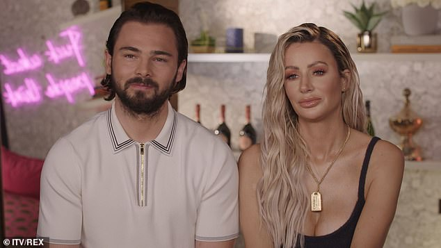 Ready to tie the knot: In recent months, the blonde Love Island star has been busy planning her upcoming nuptials to Bradley Dack, 26 (pictured)