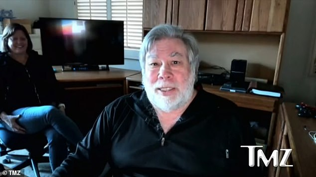The Apple co-founder detailed the severity of his symptoms during an interview with TMZ