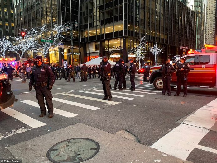 Officers blocked off the area and advised the general public to stay away from 3rd Avenue and 39th Street