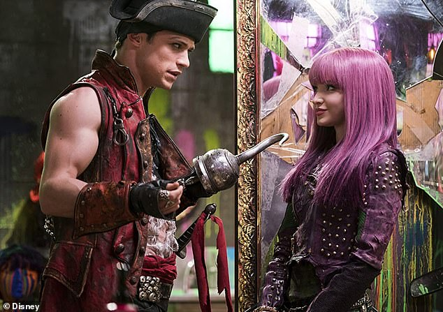 Back then:They met on the set of their 2017 Disney film Descendants 2