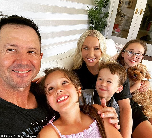 Fatherhood: Ricky, who has retired from professional cricket and is now a Seven Network commentator, told The Hamper Emporium in August that fatherhood is by far his best gig yet