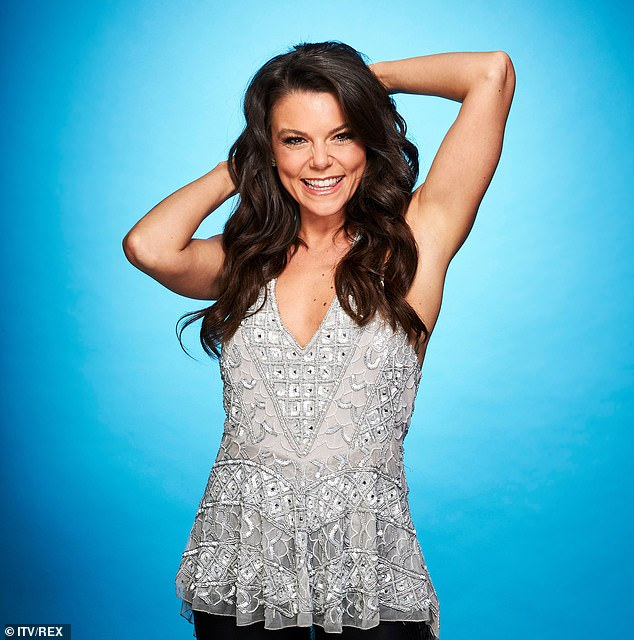 New venture:Earlier this year, Dancing On Ice confirmed Faye would be paired with professional skater Hamish Gaman for the competition