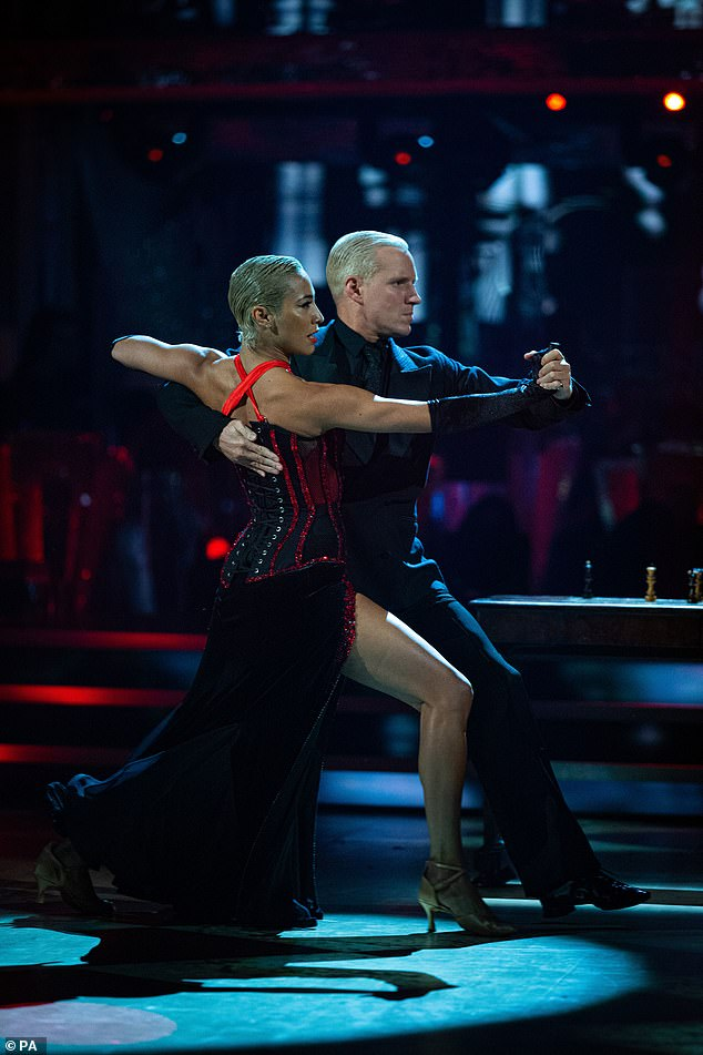 Dynamic duo: Jamie was originally set to appear in the 2019 series but pulled out because of an injury, and claimed it was 'meant to be' as he and Karen are 'incredible partners'