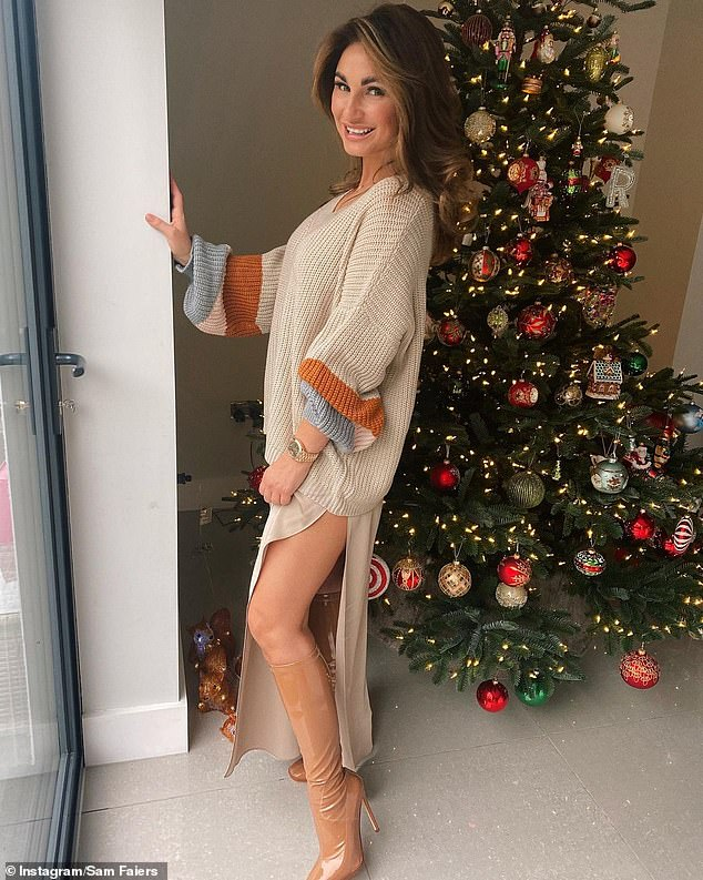 Happy Birthday! Sam Faiers has started celebrating for her 30th birthday as she enjoyed a glitzy party with her sister Billie and mother Suzie Wells on Saturday