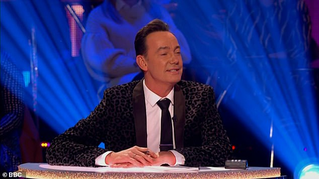 Feedback:Craig quipped that the star had 'nailed the hoedown darling!' adding: 'I thought that was never going to be a quickstep but you turned it into one, and very very well. I'm surprised!'