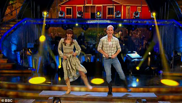Great job: 'We can always count on Jamie for entertainment, for fun, and your heart? You left it on the dance floor!'