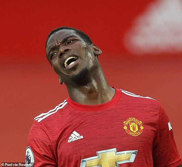 For a player many hoped to be a talisman, Pogba hasn't reached the top with the club