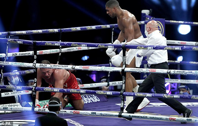 Pulev was eventually worn out as Joshua took a more aggressive approach to end the contest