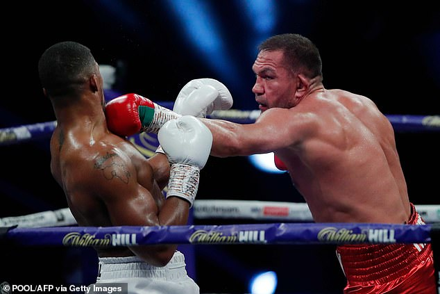 Bulgarian opponent Kubrat Pulev showed plenty of durability and heart as he took on Joshua