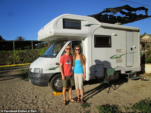 Over the weekend, gendarmerie captain Jean-Marc Bordinaro, who heads the French side of the investigation, said one theory was that the experienced hiker had deliberately disappeared.  But the theory was rejected by Mr Colegate, 38 (pictured with Esther) and Mrs Dingley's family