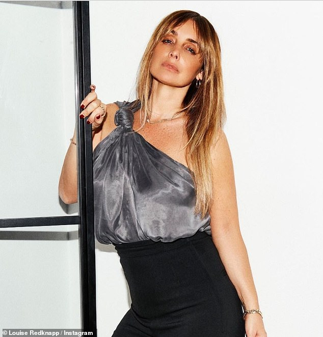 'All dressed up but nowhere to go': Louise Redknapp looks radiant in glamorous social media snap