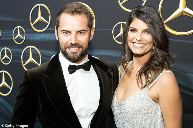 Over:Actors Daniel MacPherson and Zoe Ventoura have split after five years of marriage. Both pictured