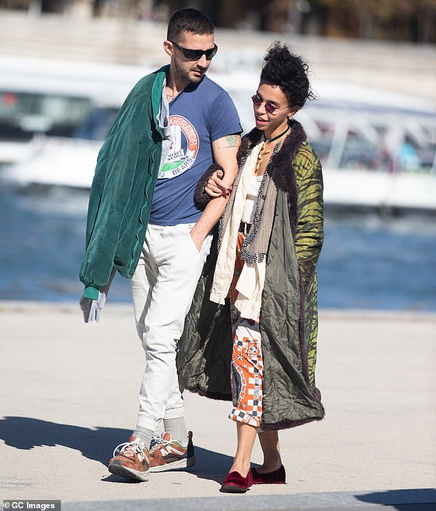 Claims: FKA twigs claims her ex knowingly gave her an STD and relentlessly abused her during their relationship. They are pictured in Paris in September 2018 when they were first linked