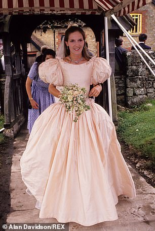 In his heyday, it was said that the casanova's brain had a built-in wealth calculator and his eyes registered dollar signs like a fruit machine. And those eyes were soon fixed on Cowdray¿s daughter Lucy Pearson (pictured)