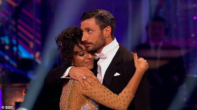 Eliminated: Ranvir's first dance on Saturday's show, a waltz, went down well and earned her two nines and one eight, but her jive earned her only 18 points in total