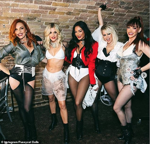 Stardom:The Pussycat Dolls were poised to embark on their much-anticipated world tour earlier this year, but the girl group had to scrap their plans due to the coronavirus pandemic