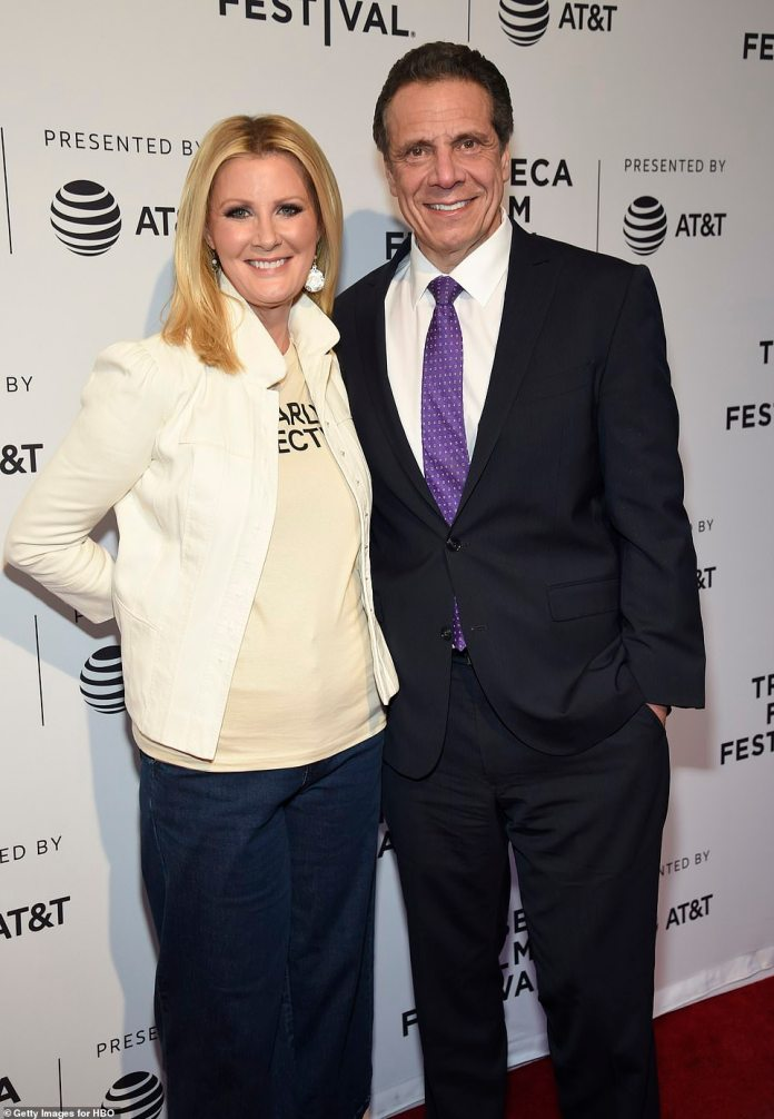 Lee and Cuomo were together for 14 years before announcing their split in September 2019