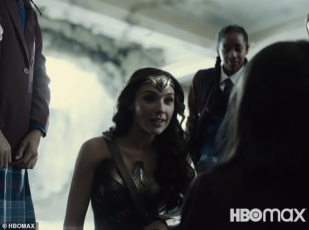 Additional filming:Additional filming took place in October, with Affleck returning as Batman, along with Henry Cavill (Superman), Gal Gadot (Wonder Woman), Ray Fisher (Cyborg) among others
