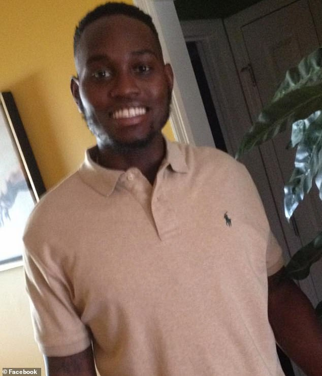 Bryan Jr recorded cellphone footage of the moment 25-year-old Arbery (pictured) was shot and killed by Travis and Gregory McMichael in the Satilla Shores neighborhood on February 23