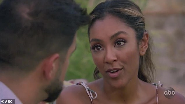 No connection:Tayshia immediately knew there was no connection and had to tell Blake, who felt blindsided