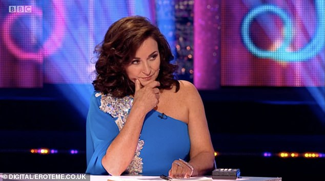 She told the trolls attacking Shirley's decision: 'SUPPORT OTHER WOMEN.  PERIOD.!!  @shirleyballas!  #strictlykindness (sic) '