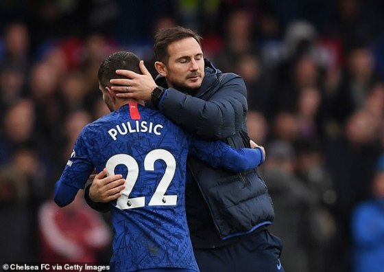 With other games absent and important, Frank Lampard will hope to have a Pulisic form