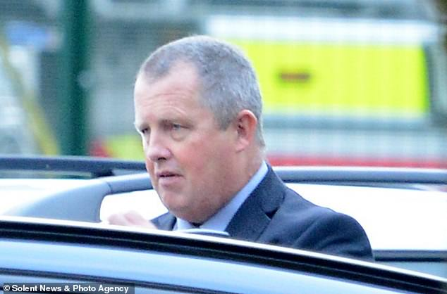 Det Insp Timothy Ireson (pictured) said he should have been aware of an 'escalation in behaviour' among his officers as they made repeated 'stomach turning' remarks