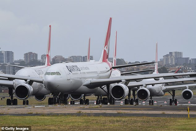 Qantas boss Alan Joyce sparked anger from vaccine skeptics last month when he said his airline won't allow passengers to travel if they don't get the jab