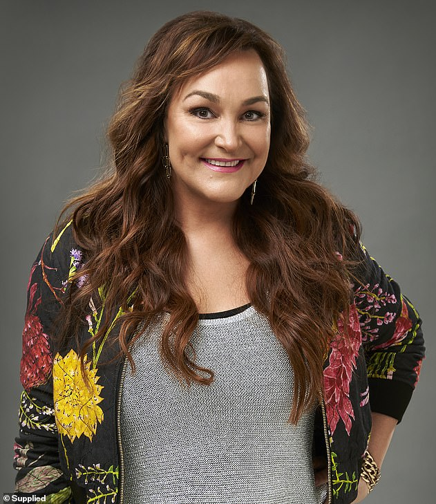Familiar face: The footy WAG, 37, will be replaced in the afternoon time slot by comedian Kate Langbroek (pictured) in 2021, the Australian Radio Network confirmed