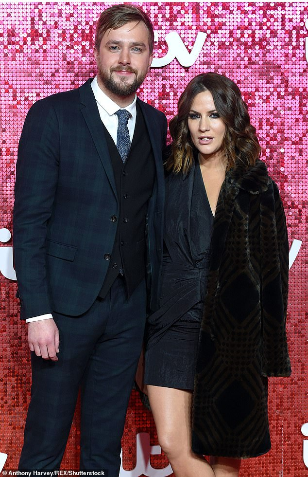 Big shoes to fill: Earlier this year, Laura and Iain also started working together, after Laura took over the role of Love Island host from her late friend Caroline Flack (pictured with Iain in 2017)