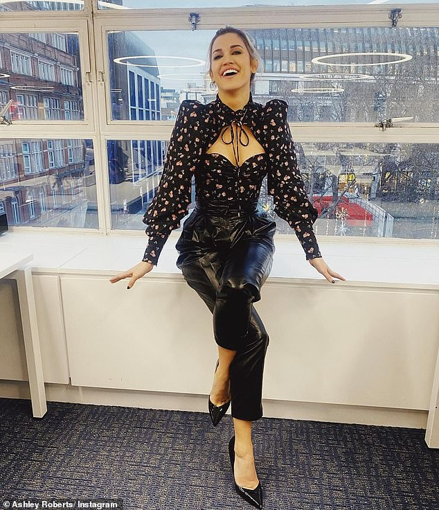 Too glam to give a damn:The singer later took to her Instagram to further showcase her outfit
