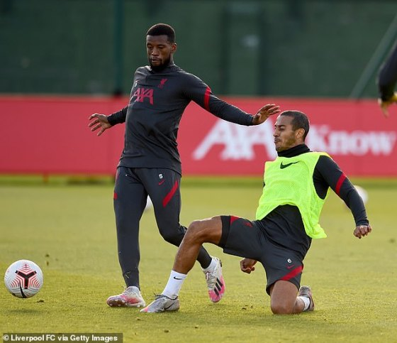 Wijnaldum had an uncertain future in the summer when Liverpool moved for Thiago Alcantara