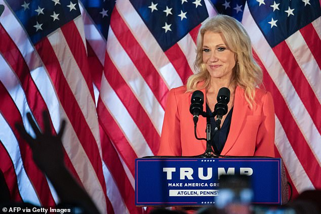 Former Counselor to the President of the United States Kellyanne Conway weighed in with editing suggestions on faith communities