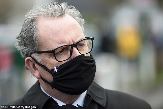 President of the National Assembly Richard Ferrand who announced today he has gone into self-isolation