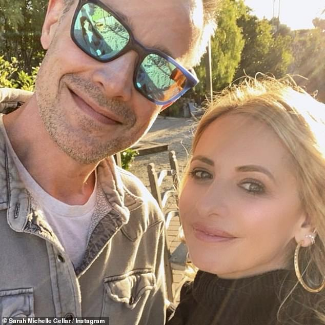 Couple: The Buffy star has been married to actor Freddie Prinze Jr. since 2002 and they are parents to daughter Charlotte, 11, and son Rocky, eight