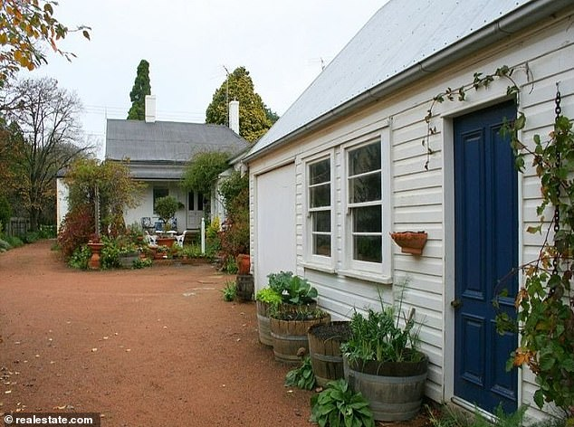 Home sweet home: Sasha reportedly spent $1.385million on the unrenovated Victorian cottage, which is located near Bowral