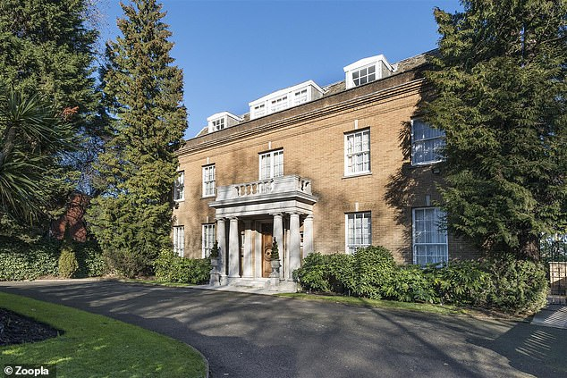 This eight-bedroom detached house on Avenue Road in London is for sale for £ 25million via estate agents Glentree
