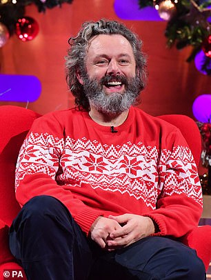 Star: Meanwhile, Michael Sheen appeared on The Graham Norton Show to chat about the second series of Staged