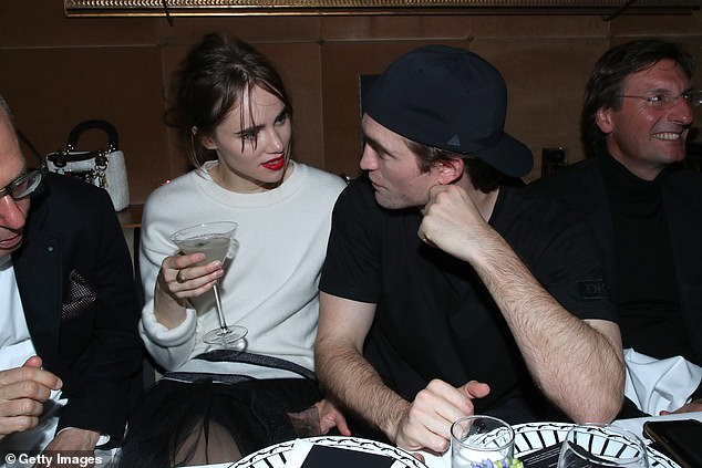Cute couple: Suki has been dating Robert Pattinson since July 2018 (pictured January 2020)