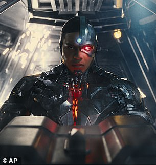 Fisher plays the character Cyborg in the DC Comics film