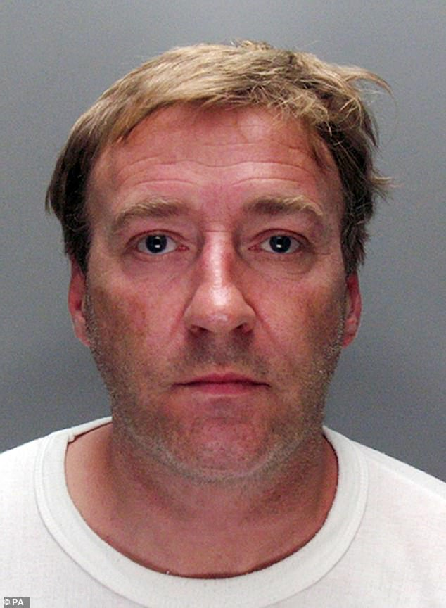 Graham Heaps, pictured, torched the home in December 2008 by pouring petrol through the letterbox after being consumed by a jealous rage when Francesca's aunt ended their short relationship. He was sentenced to life for the murder and ordered to serve a minimum of 28 years