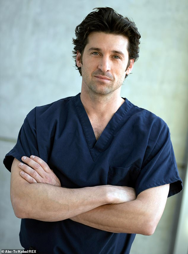 Back from the dead: Dempsey's character Derek Shepherd was previously killed off during the 11th season of the show