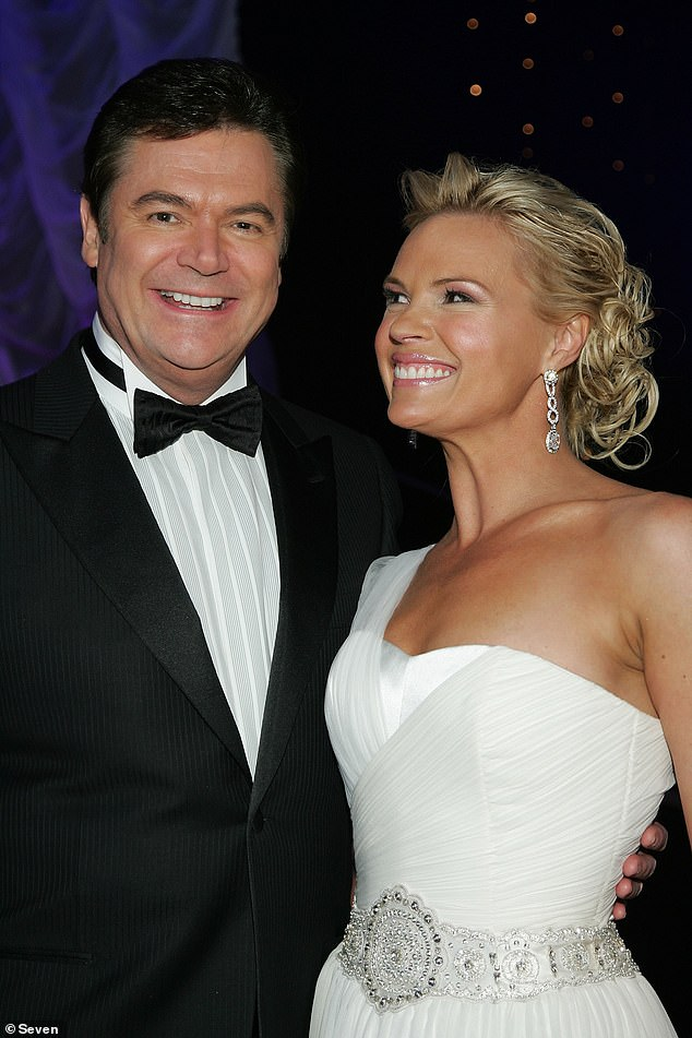 Dynamic duo:Daryl is next set to host Dancing with the Stars, returning for the reboot after hosting the original seven seasons. He hosted Dancing with the Stars from 2004 to 2007 alongside Sonia Kruger (right). Pictured in 2006