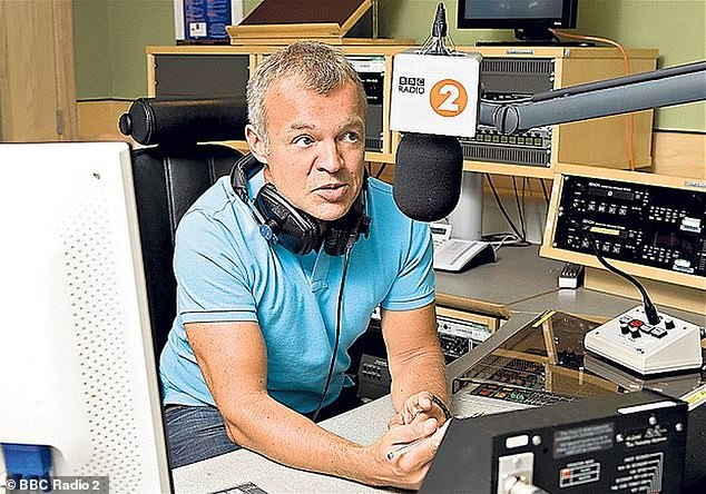 Time to move on:Meanwhile, during his final Saturday morning slot, Graham said a fond farewell to his listeners after a decade presenting on the station
