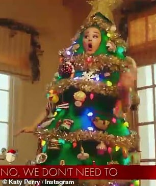 Mixed emotions: The video aims to highlight mixed holiday emotions as though filled with a lot of joy it can also be a bit hectic