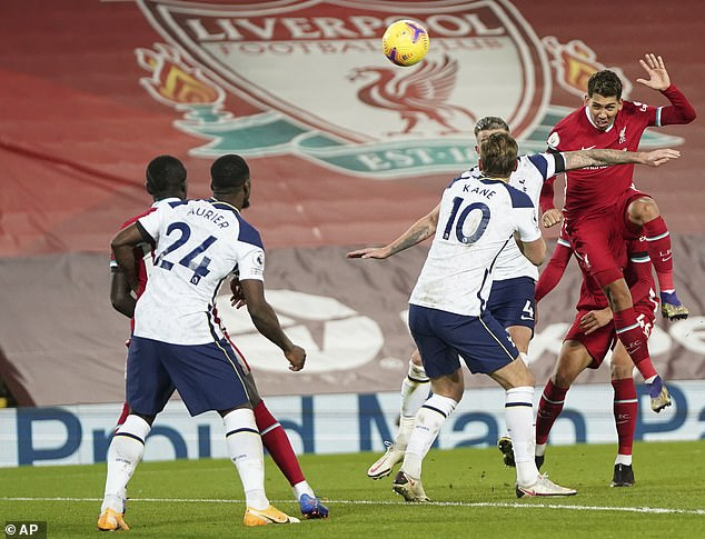 Roberto Firmino's late header sank Spurs, whose motto should now be 'Dare is not'
