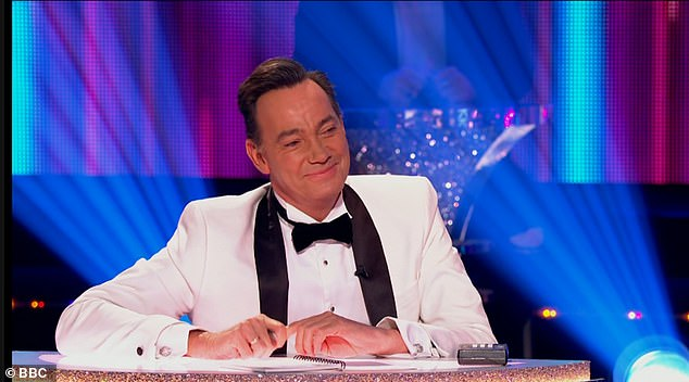 Naughty or nice? Strictly Come Dancing's notoriously catty judge Craig Revel-Horwood declared there'd be no nastiness from him during Saturday night's final