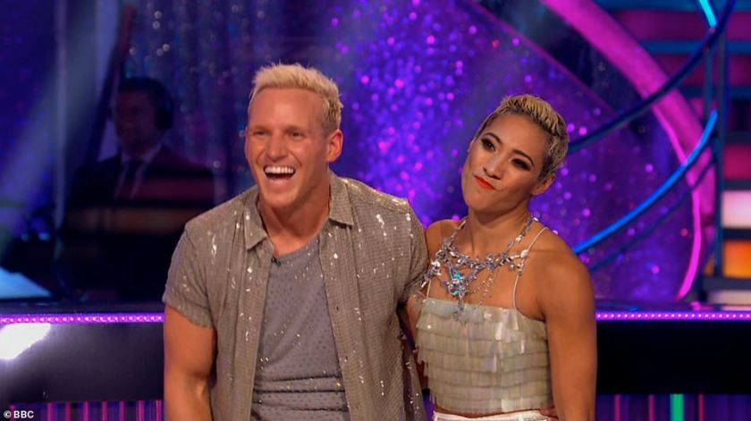 The comeback King!Jamie and Karen were second with their performance to I'm Still Standing from 2019's Rocketman, which earned them 29 points out of 30